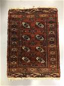 Vintage Bokhara Rug 31 x 42 inches