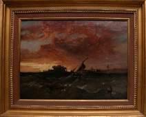 160 James Webb born 1825 Britain oil canvas painting