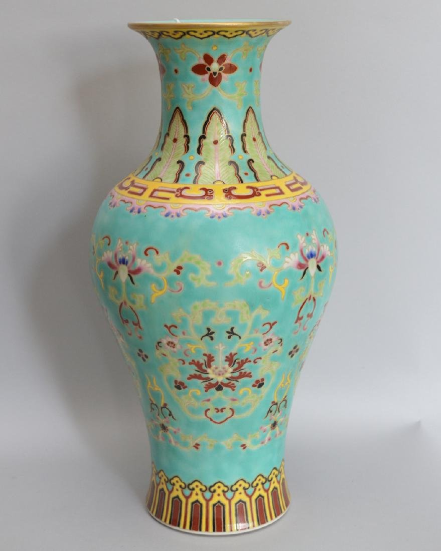Chinese Porcelain Vase with hand painted floral