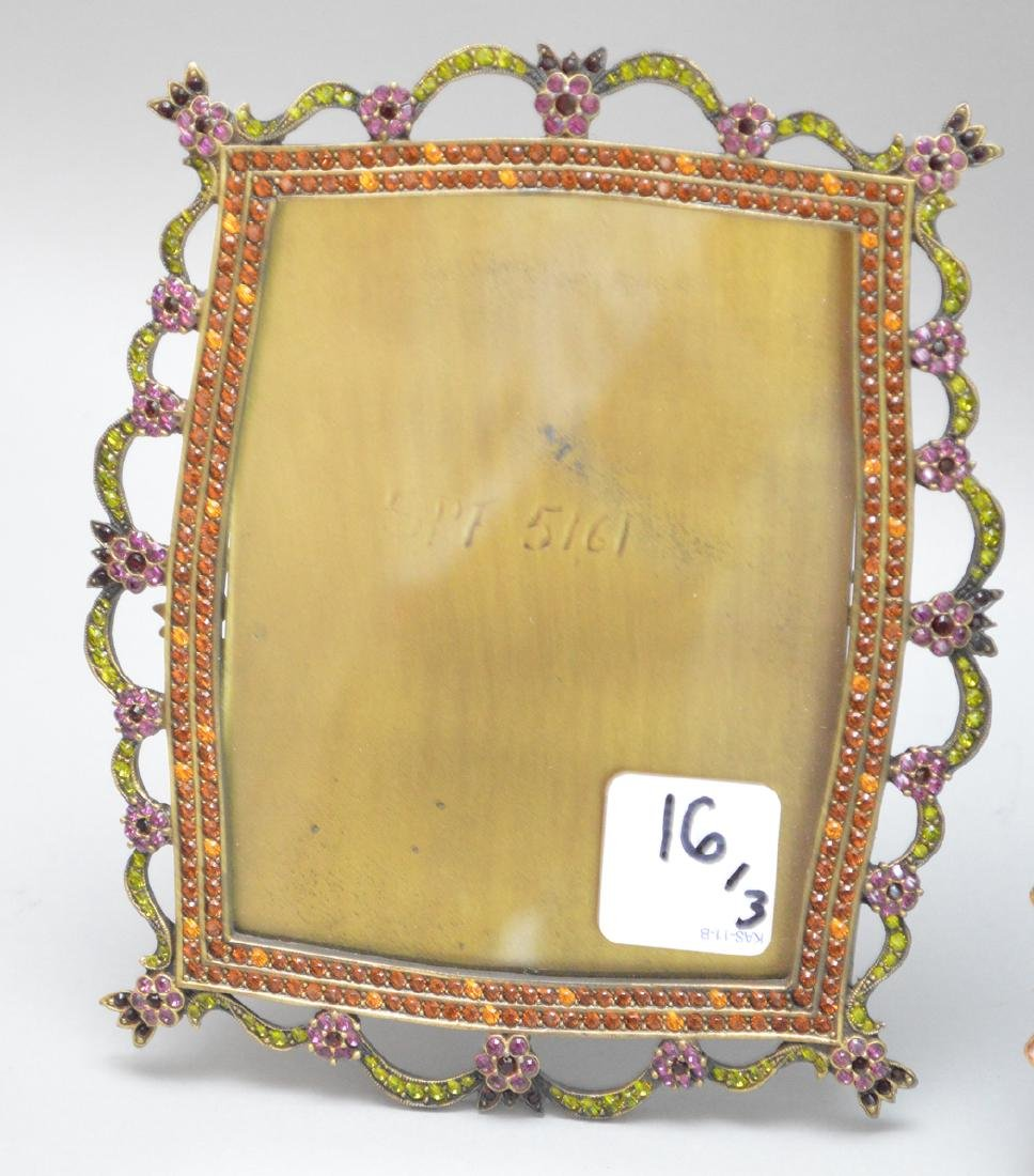 3 Jay Strongwater Frames.  Largest Ht. 10 1/2 Middle - 2