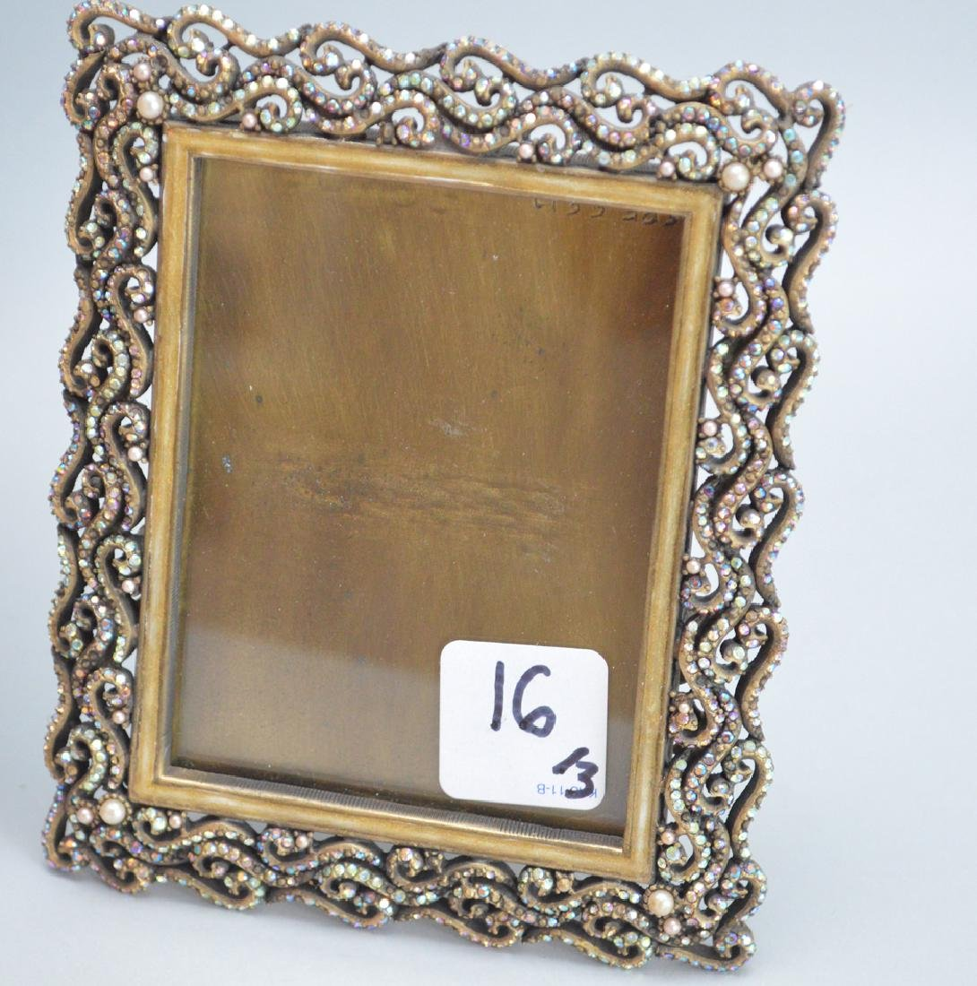 3 Jay Strongwater Frames.  Largest Ht. 10 1/2 Middle - 3