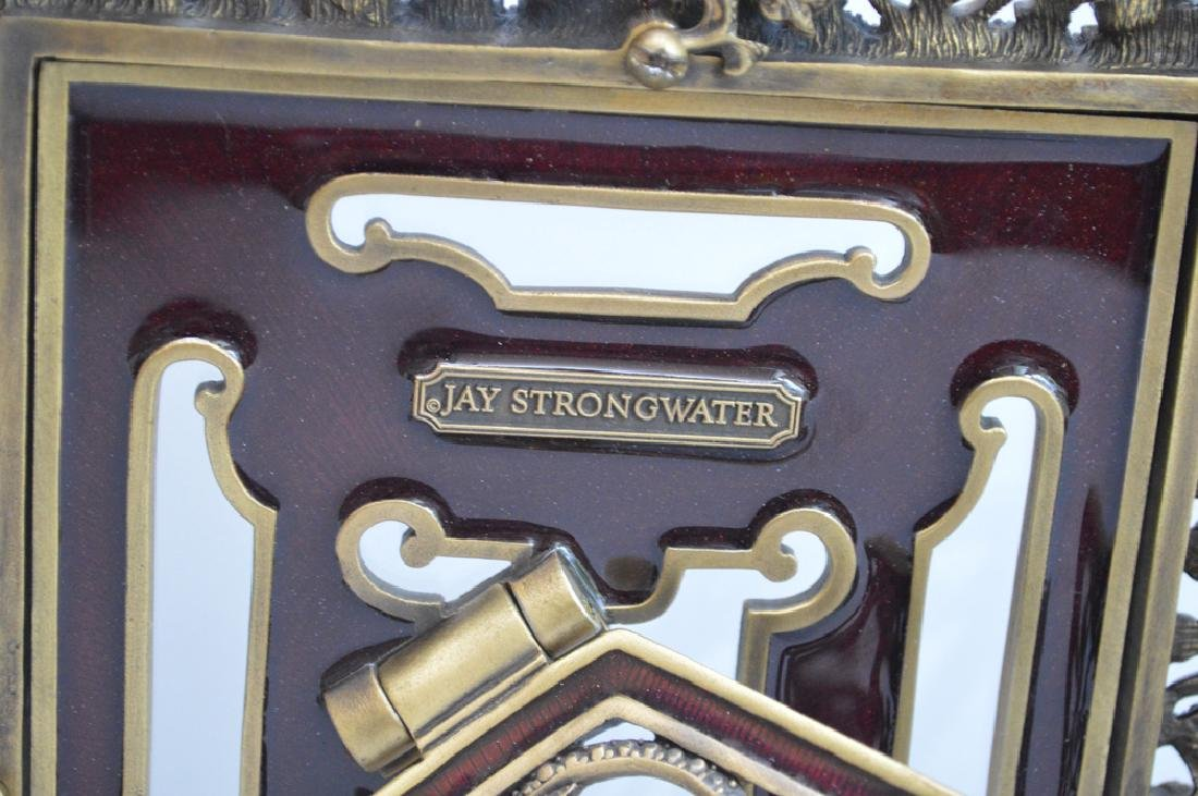 3 Jay Strongwater Frames.  Largest Ht. 10 1/2 Middle - 9