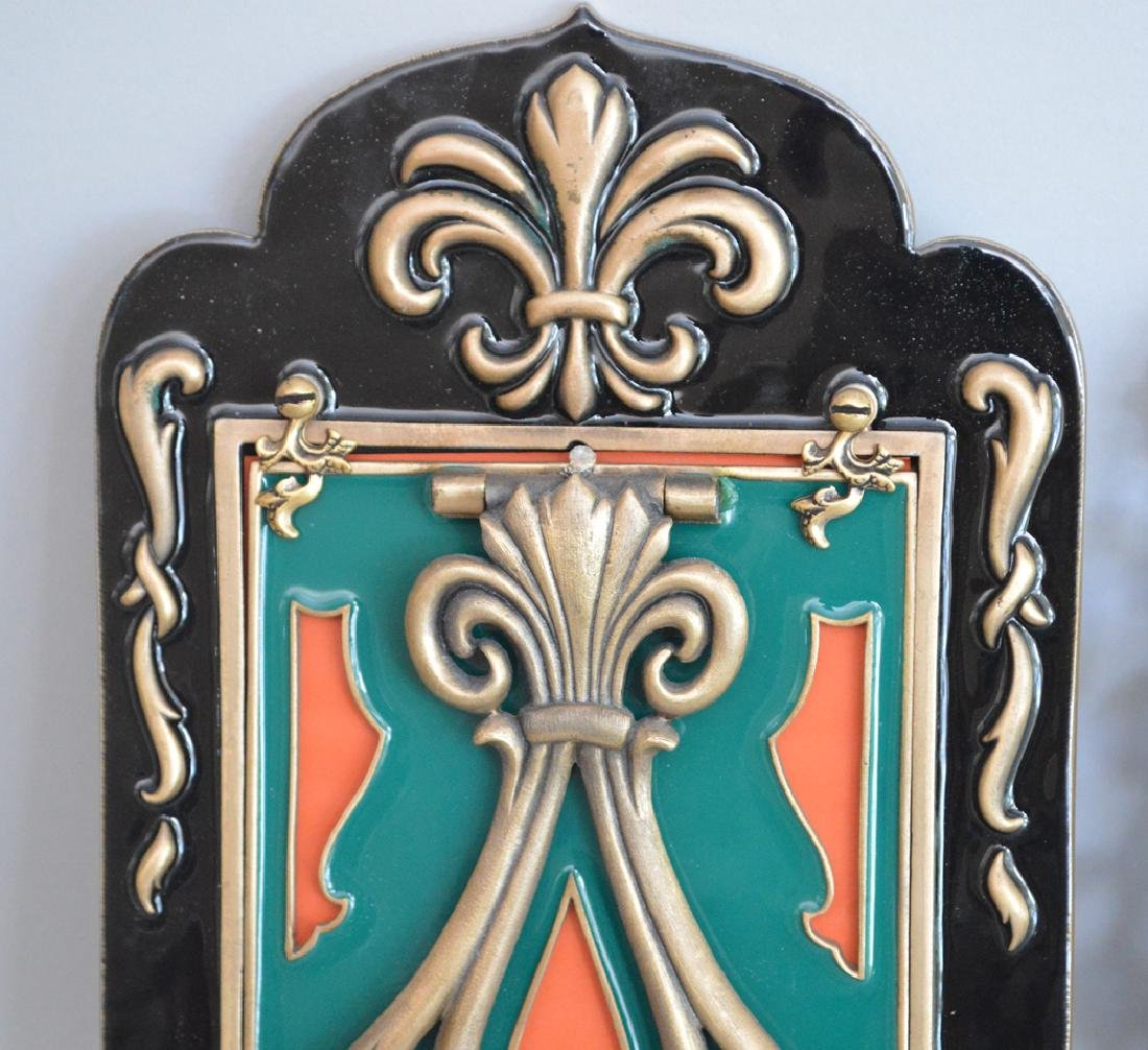 3 Jay Strongwater Enamel & Jeweled Frames.  Condition: - 6