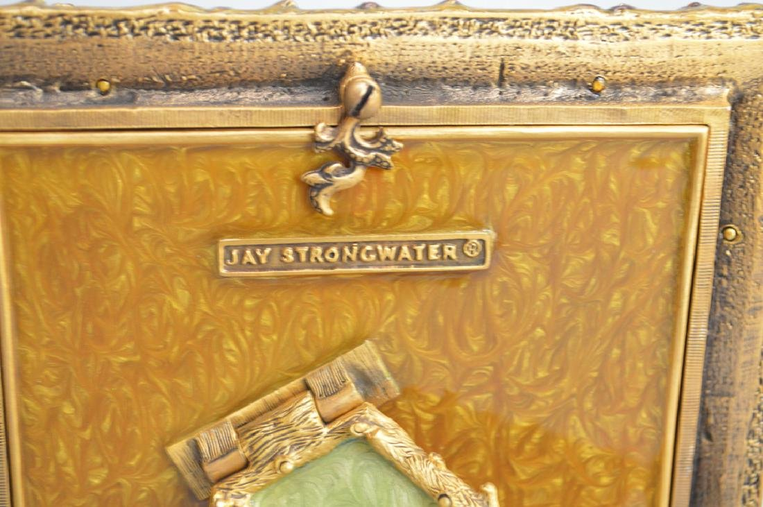 2 Jay Strongwater enamel & jeweled frames, one frame - 6