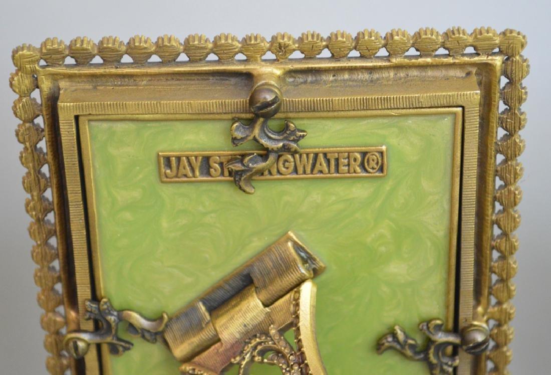4 Jay Strongwater enamel frames, each frame is signed - 10
