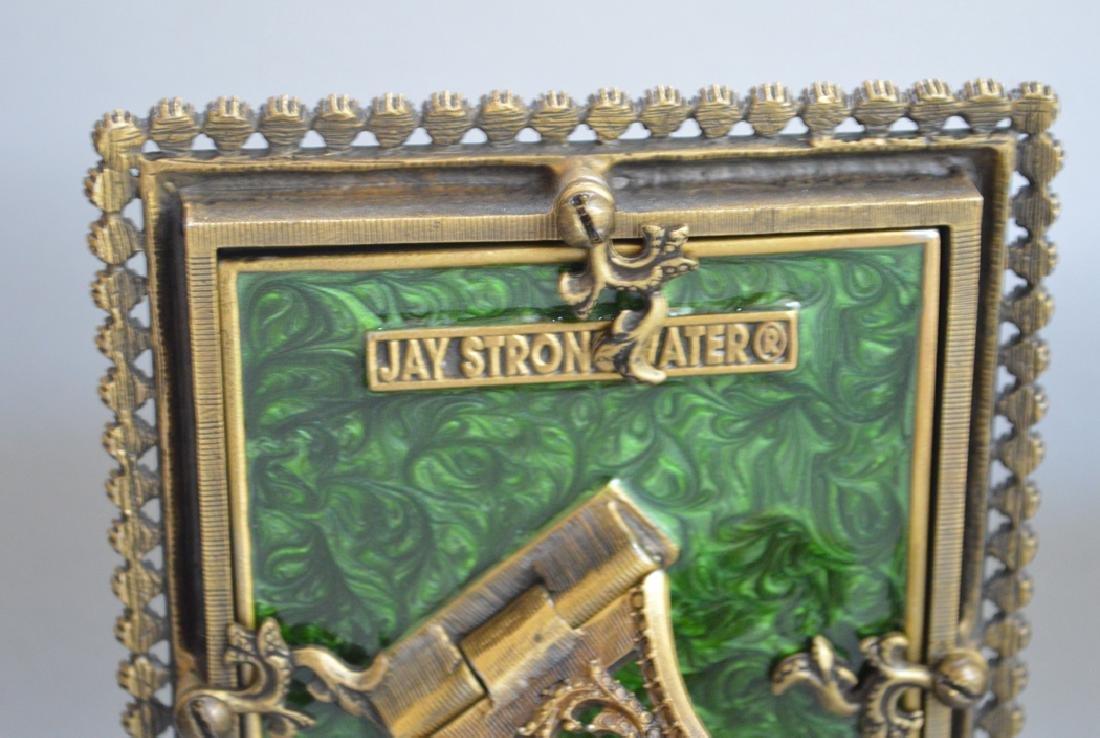 4 Jay Strongwater enamel frames, each signed, frame - 8