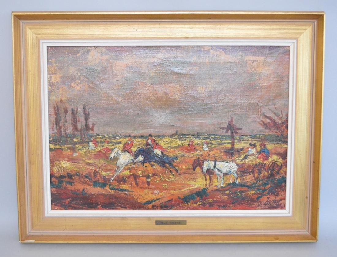 Witold Andrzej Zacharewicz  (Poland 1929 - 1987) oil on