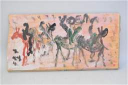 Purvis Young American 1943  2010 outsider art