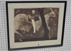 Francisco Toledo (MEXICAN, 1940) Lithograph, Horse, 16