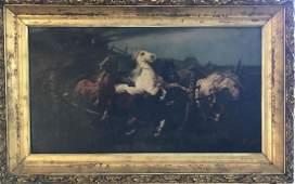 Alfredo Sadoletti Italian born 1866 oil on canvas