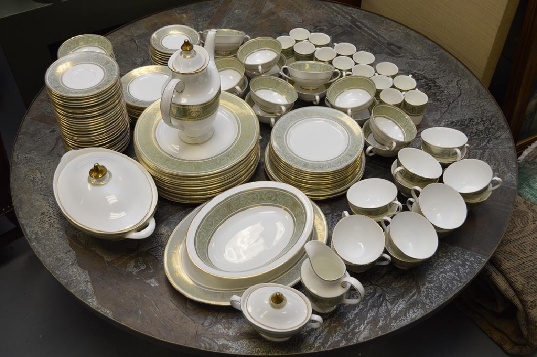 Royal Doulton china, English Renaissance pattern, incl;