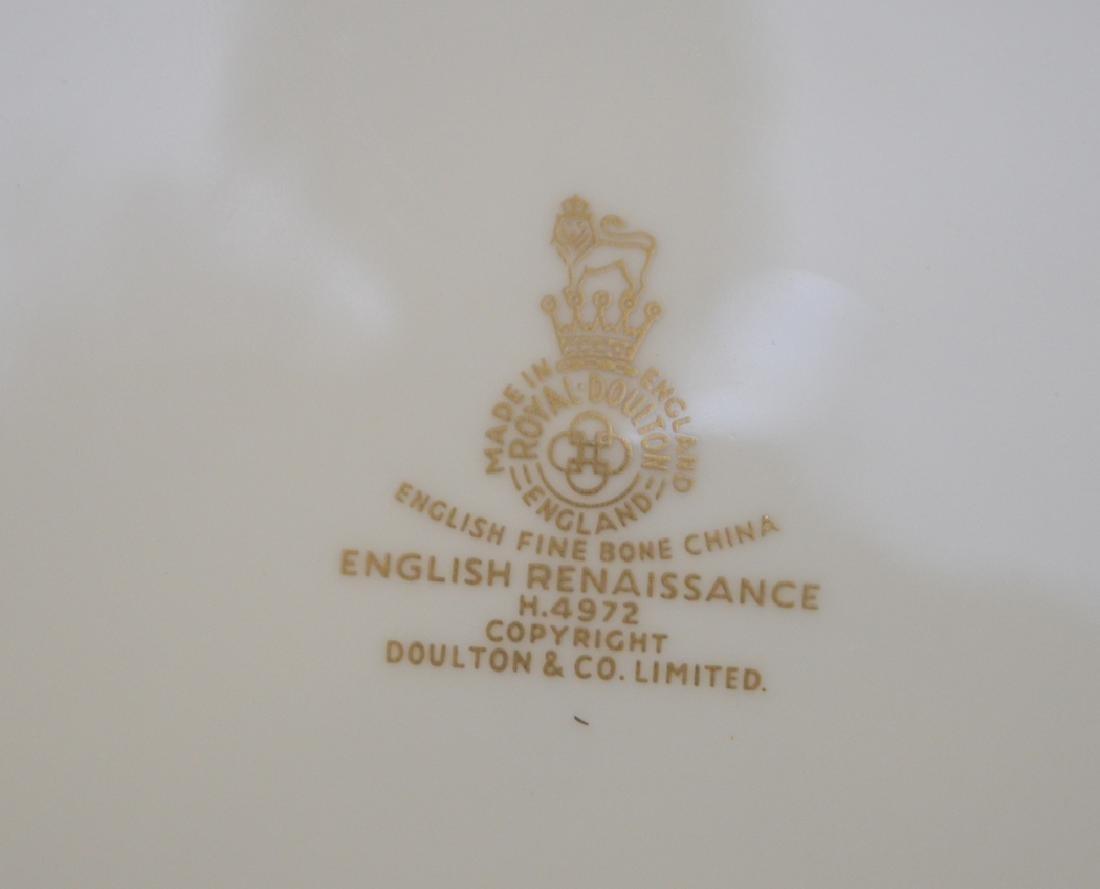 Royal Doulton china, English Renaissance pattern, incl; - 6