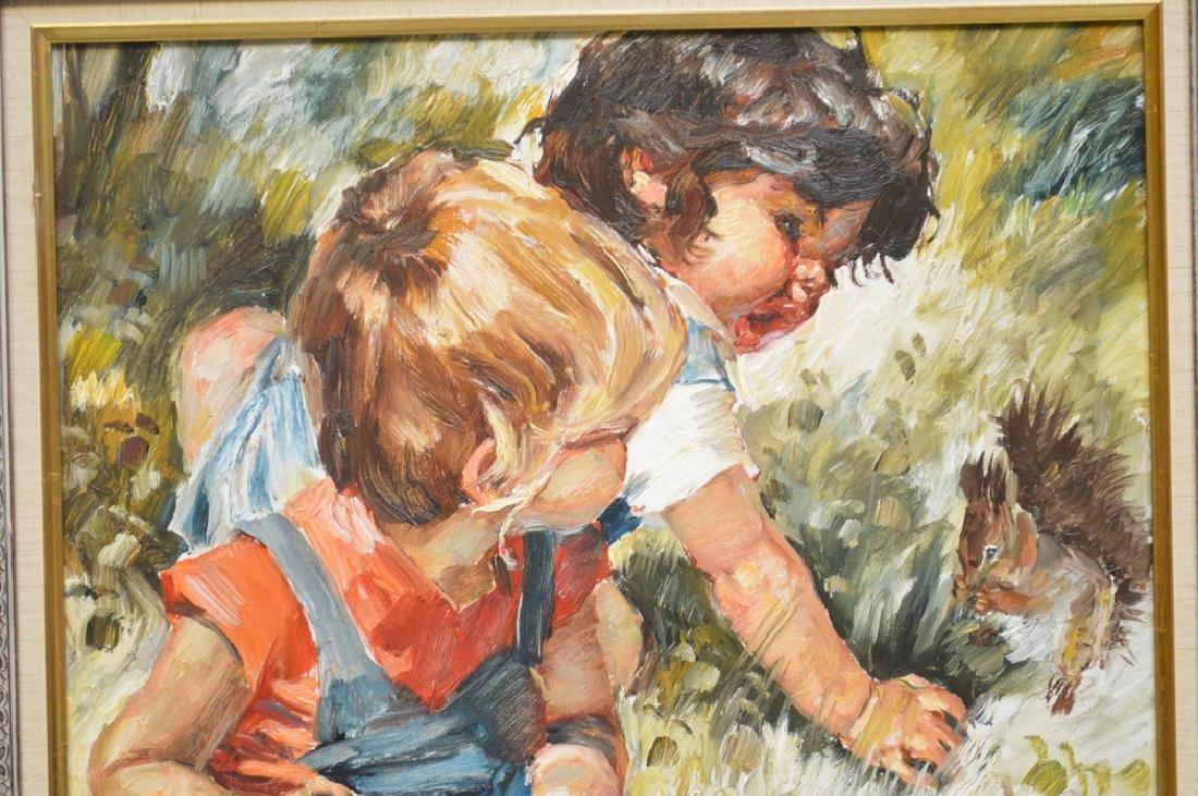 Charles A. Roka (HUNGARIAN, 1912-1999) oil on canvas, 2 - 2