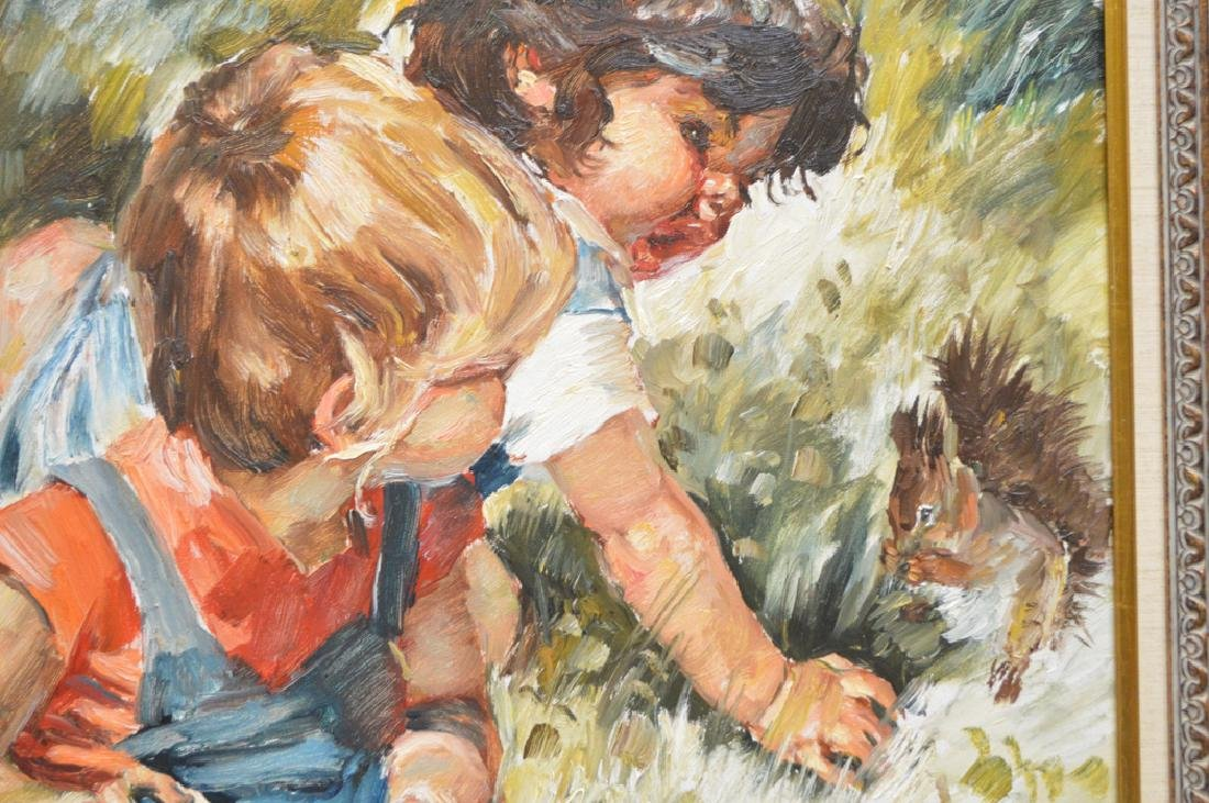 Charles A. Roka (HUNGARIAN, 1912-1999) oil on canvas, 2 - 3