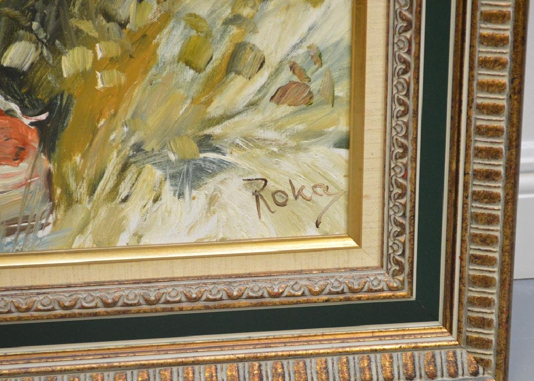 Charles A. Roka (HUNGARIAN, 1912-1999) oil on canvas, 2 - 4