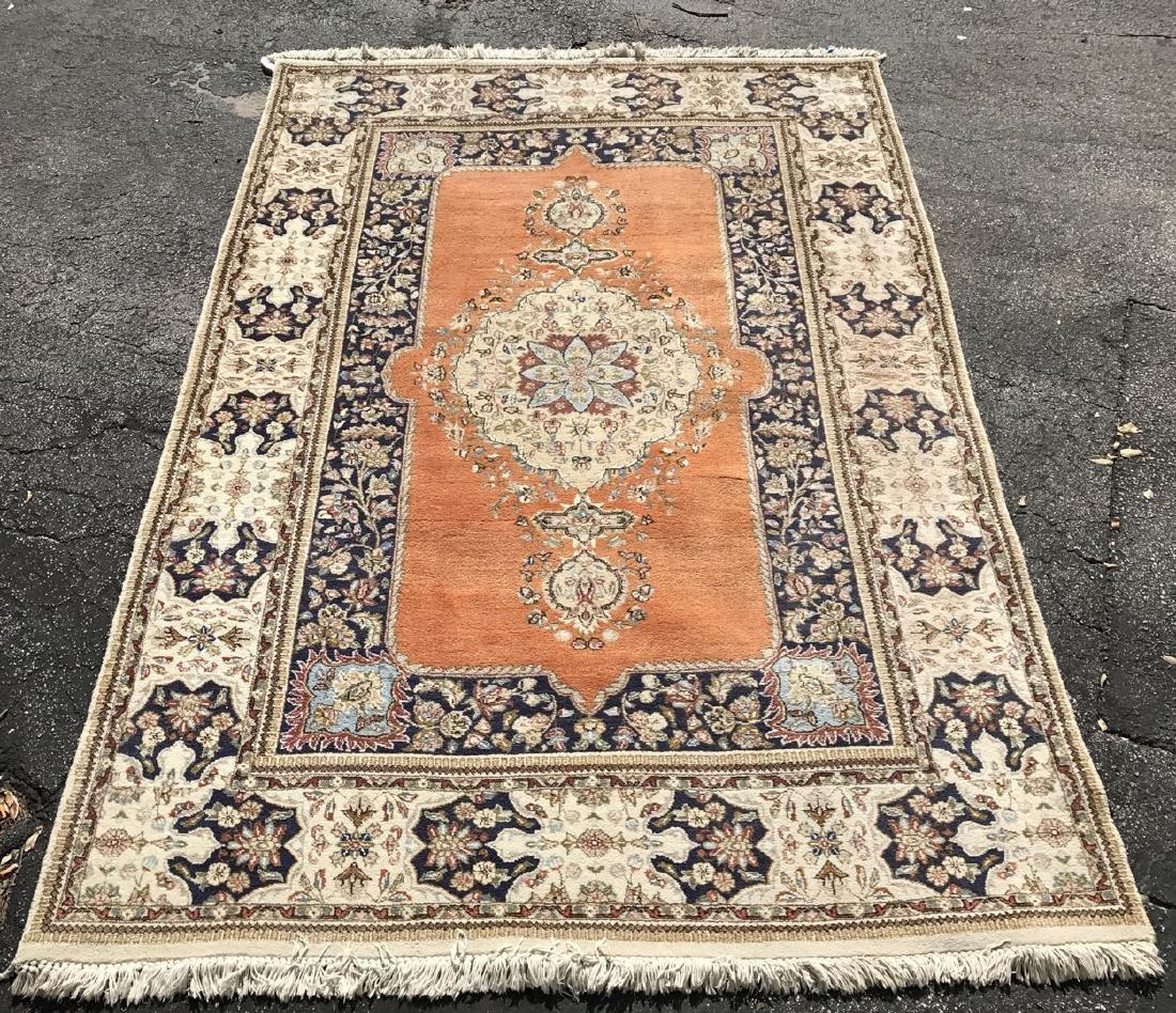 Persian Tabriz Carpet approx. 5 x 9 feet