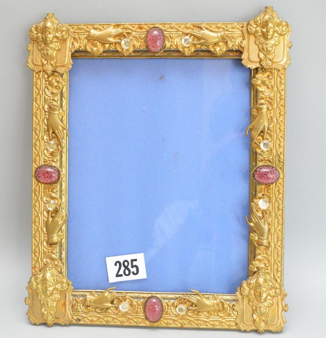 Brass large frame, 12h