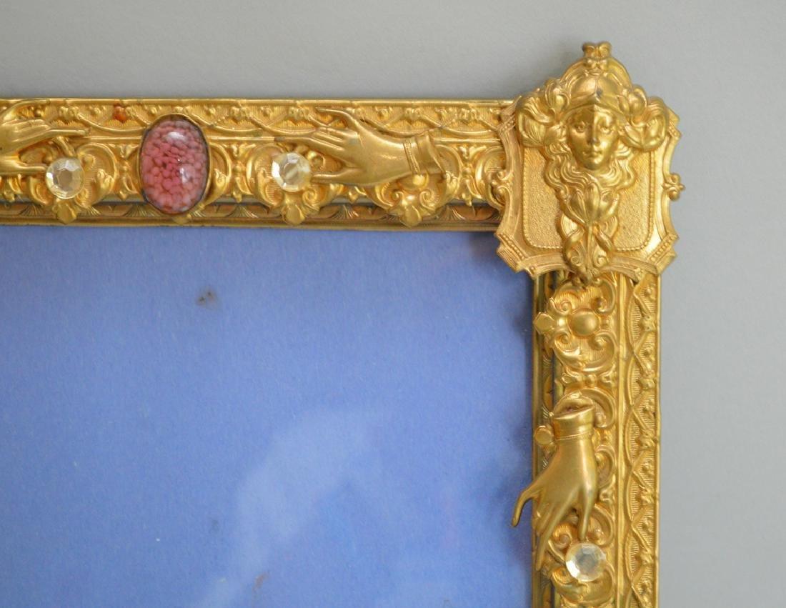 Brass large frame, 12h - 2