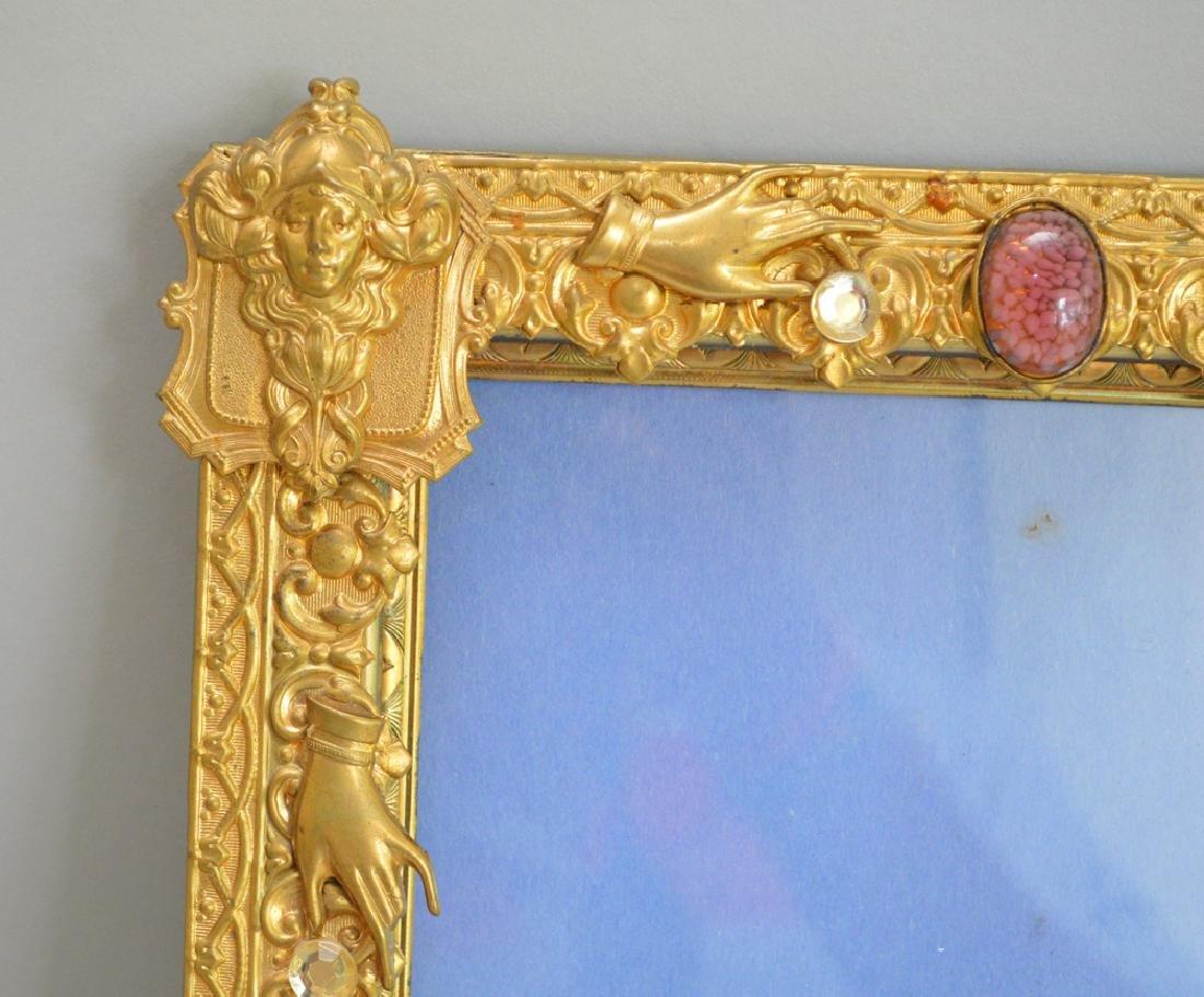Brass large frame, 12h - 4