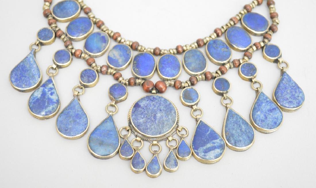 Ethnic lapis necklace, 10L - 2