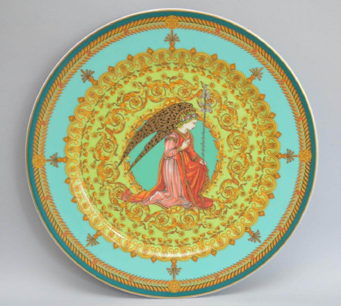 Versace large plaque, 12dia