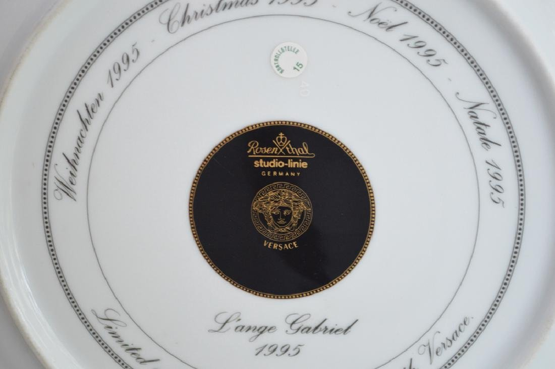 Versace large plaque, 12dia - 5