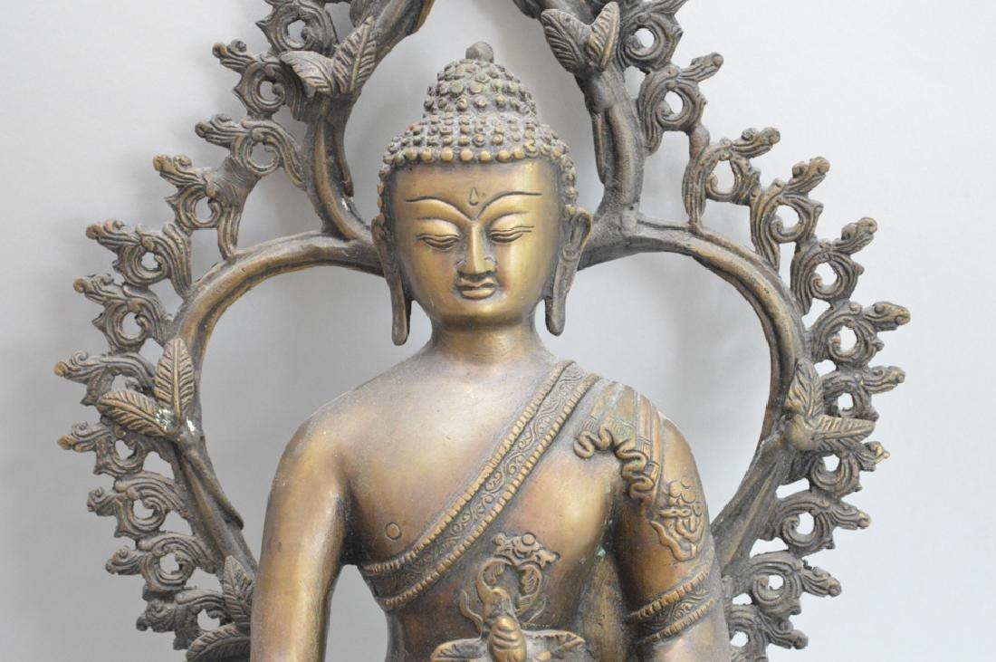 Seated Asian Deity, 10 1/2h - 2