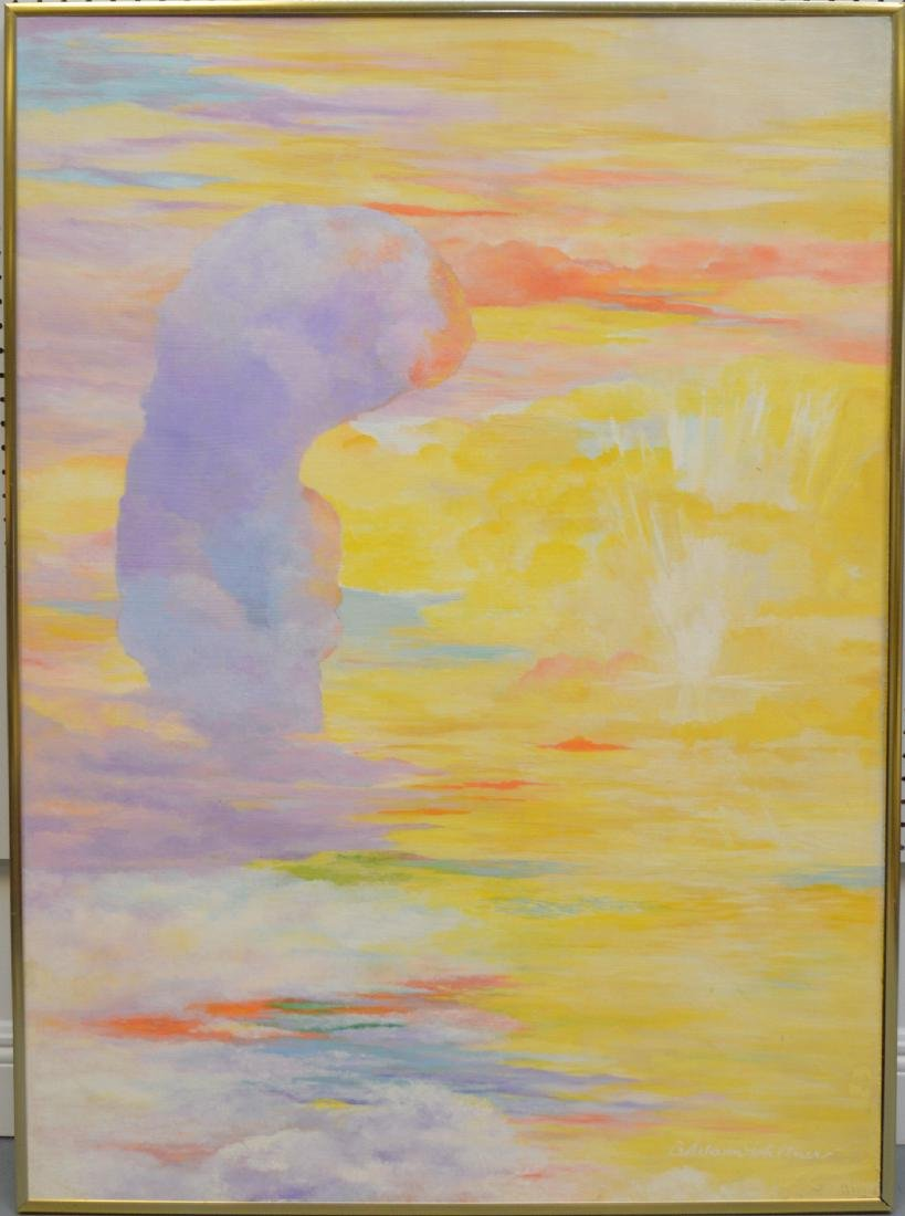Beverly Ruland Waltner  (mid 20th century) oil on