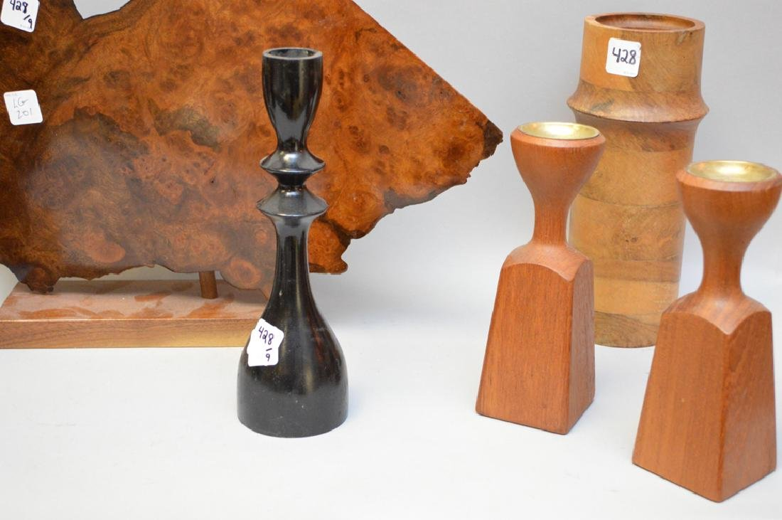 9 assorted wood novelty pieces - 5