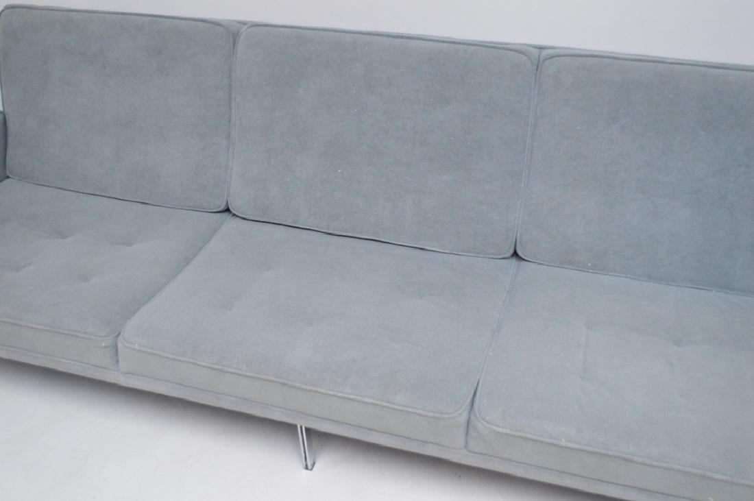 Grey modern sofa, 7' x 10h (floor to seat) - 2