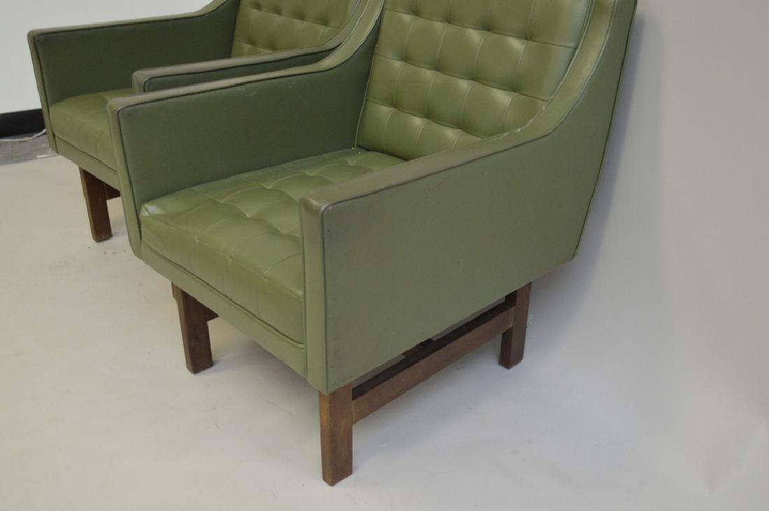 Pr. Green Vintage Chairs - 3