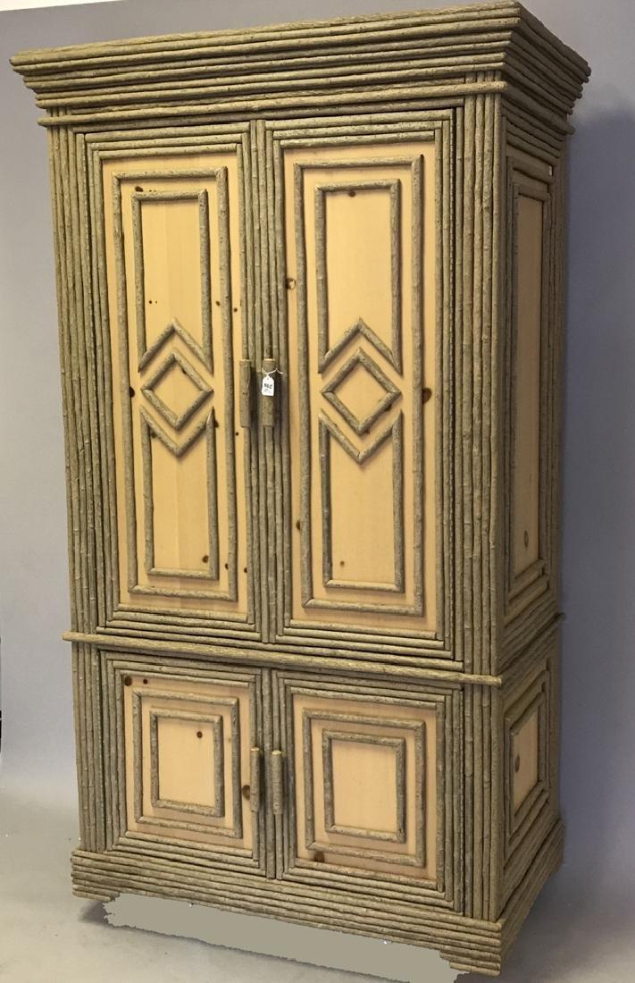 Adirondack style cabinet/armoire/linen press - 4