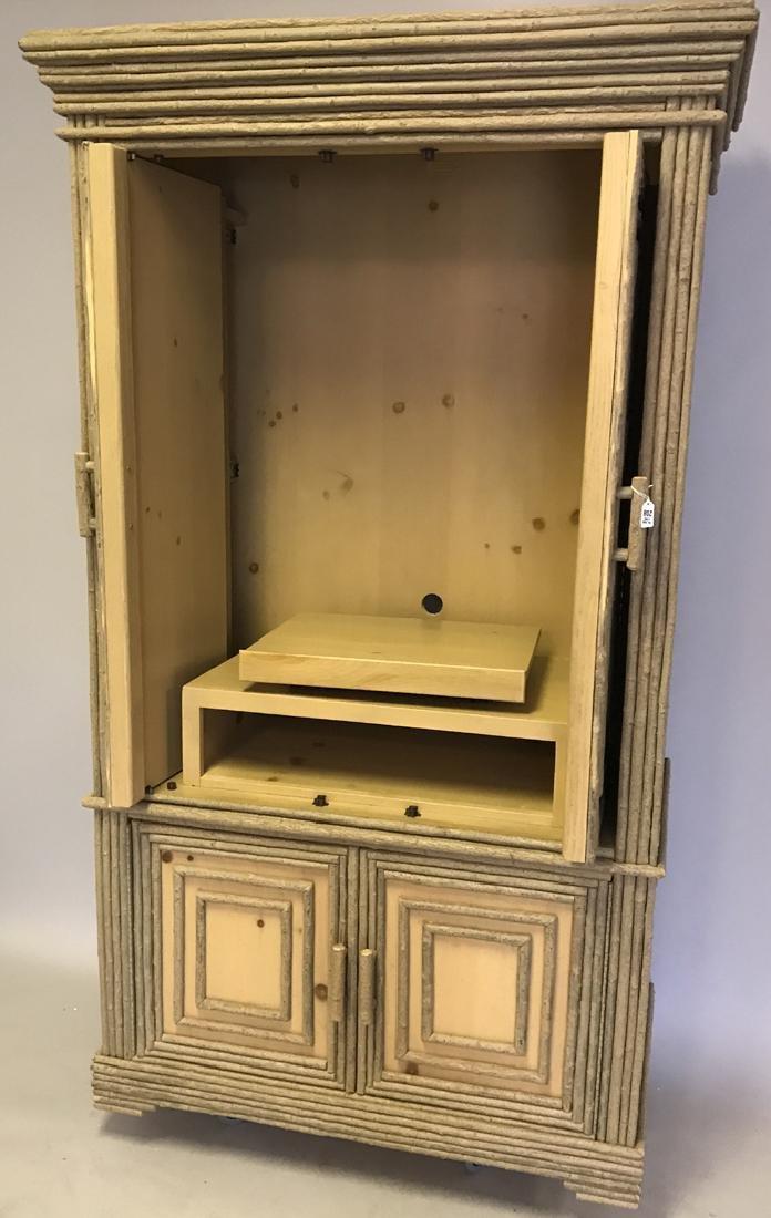Adirondack style cabinet/armoire/linen press - 6
