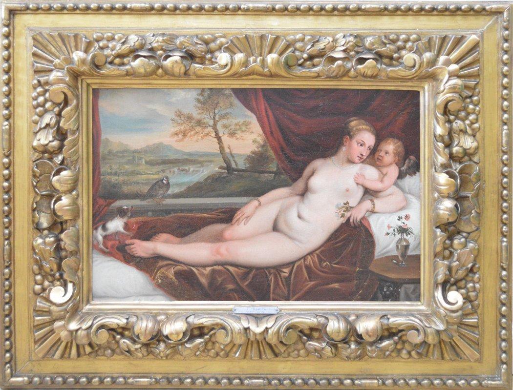Attributed:  Titian (Italian, Born Circa, 1485-1576)
