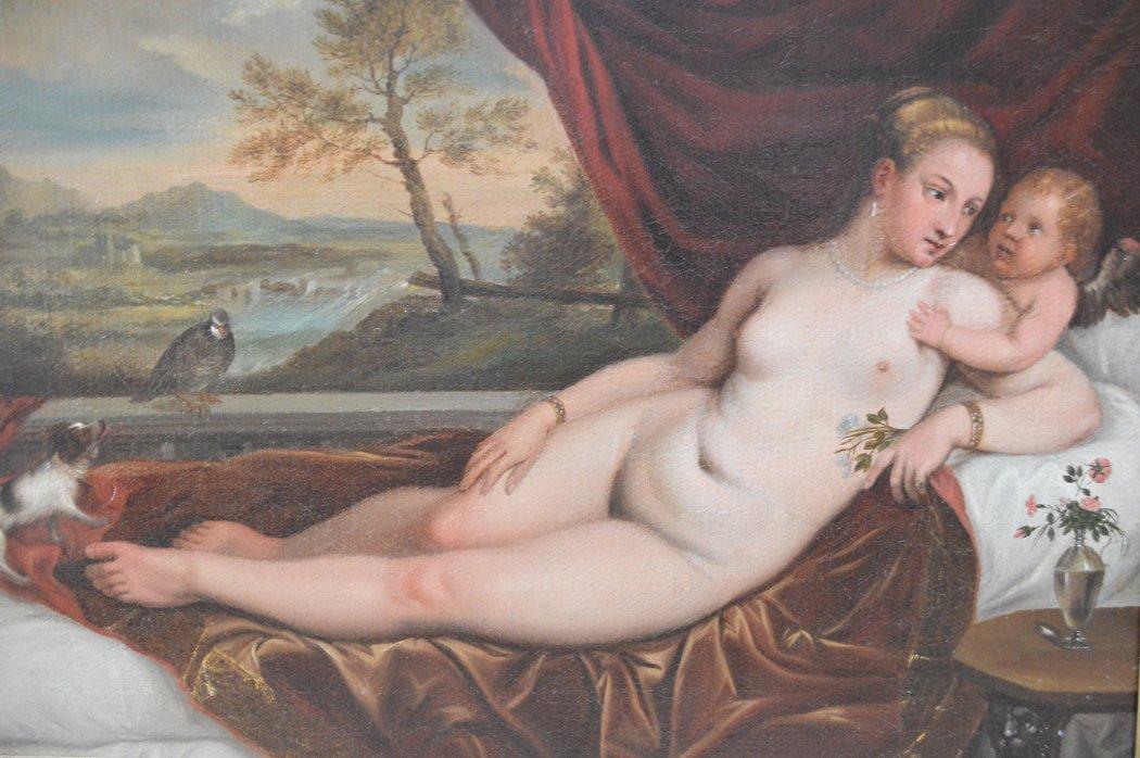 Attributed:  Titian (Italian, Born Circa, 1485-1576) - 2