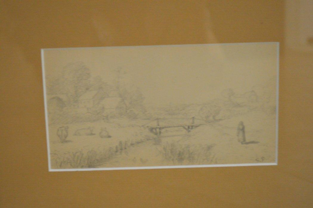 French School, 19th century, pastoral scene - 2