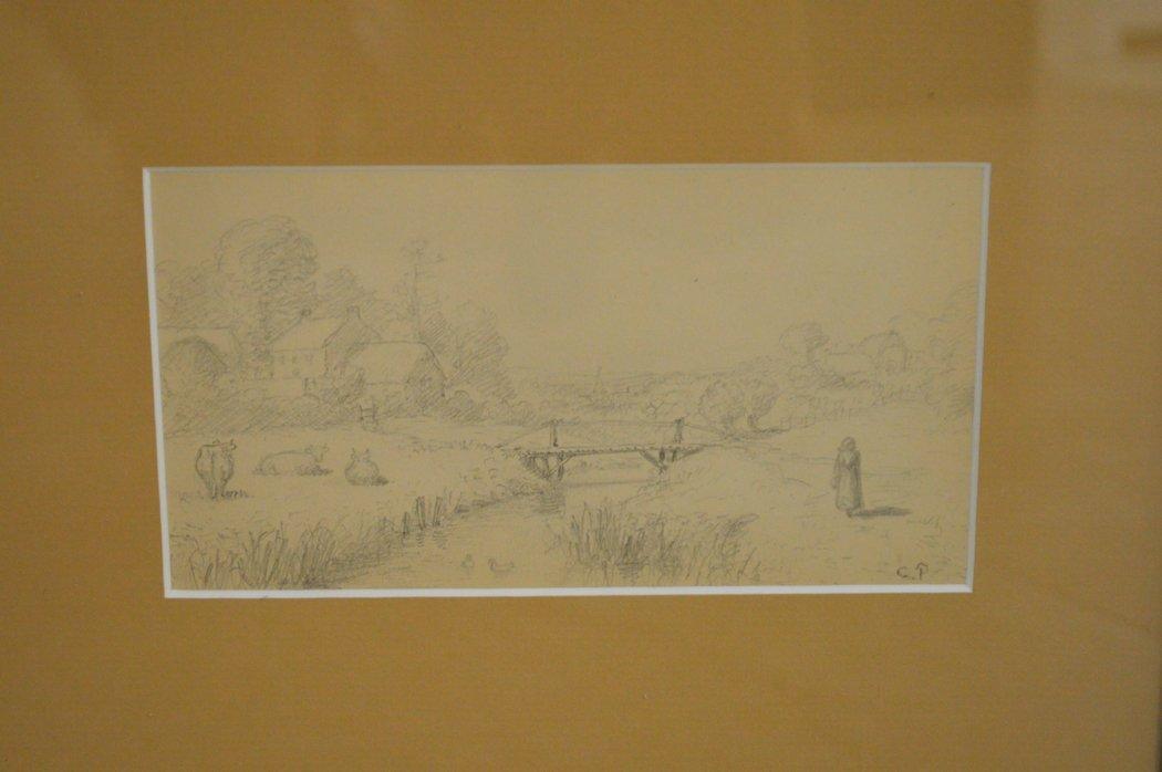 French School, 19th century, pastoral scene - 3