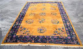 Large Chinese Carpet, 17' x 5 in. x 12 ' 4in