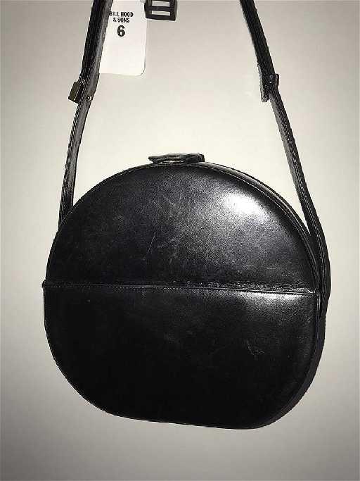 007a1e26cd41 Charles Jourdan Leather Handbag Black