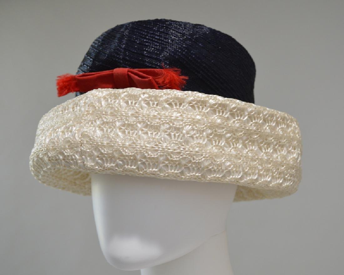 St. John's Off/white & Black Hat.
