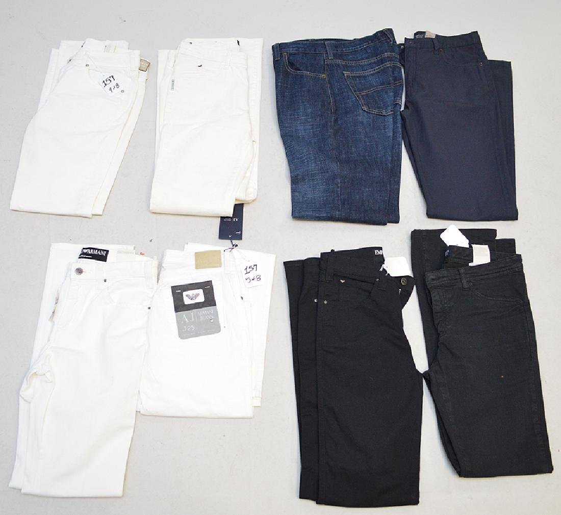 Lot of Armani Jeans, 8 Total Pieces all (Italy) Size