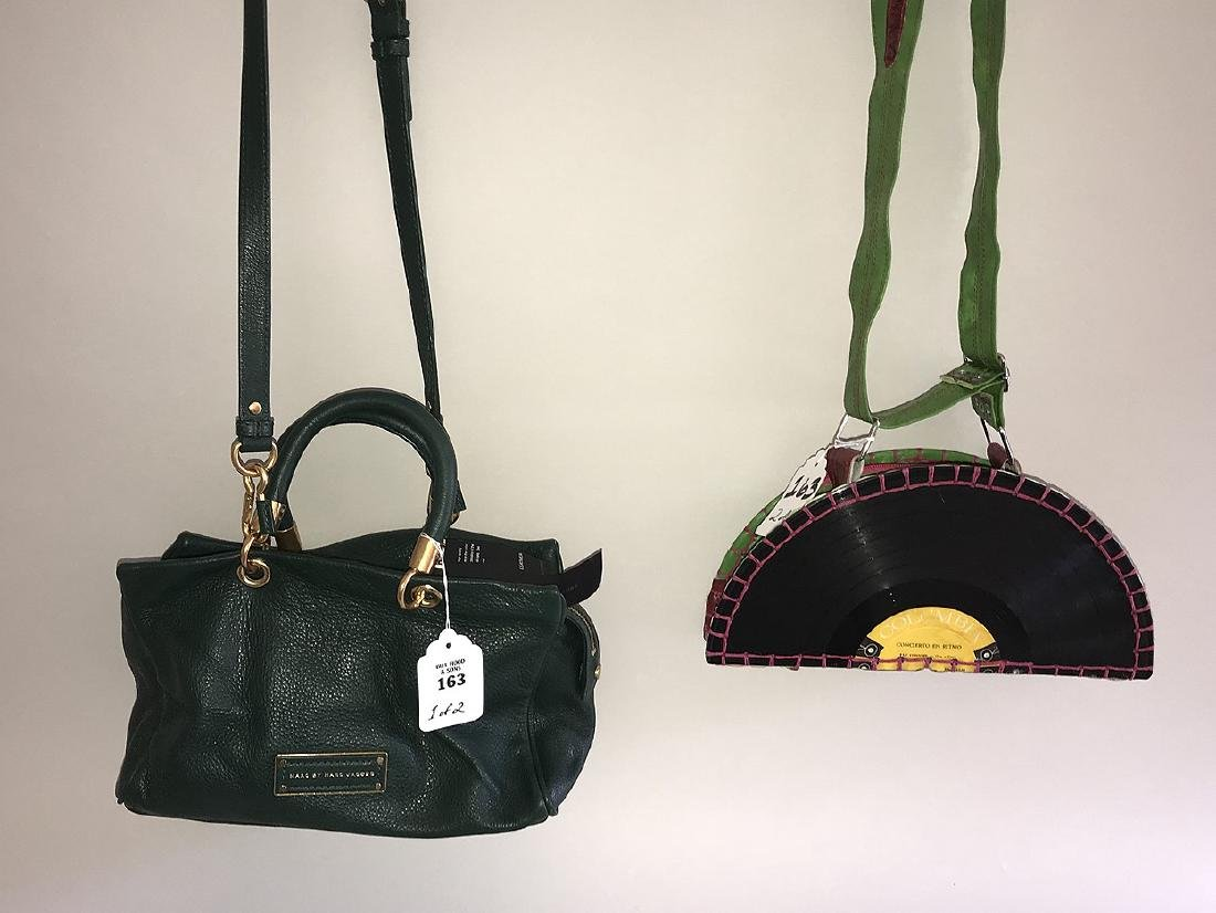 Lot of Two Purses - (1) Marc by Marc Jacobs Green
