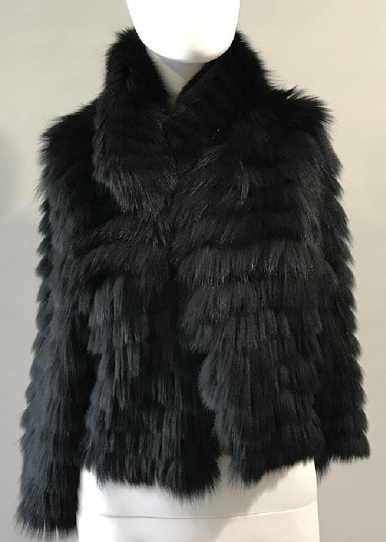 Byte by Teso for Neiman Marcus Imitation Fur Jacket,