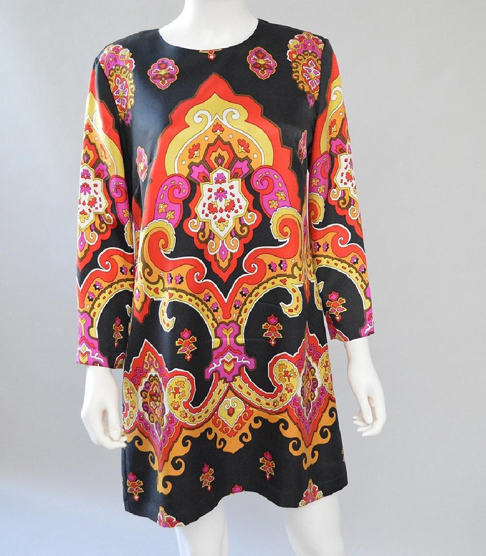 Vintage See by Chloe Shift Dress, Viscose-Blend, (US)