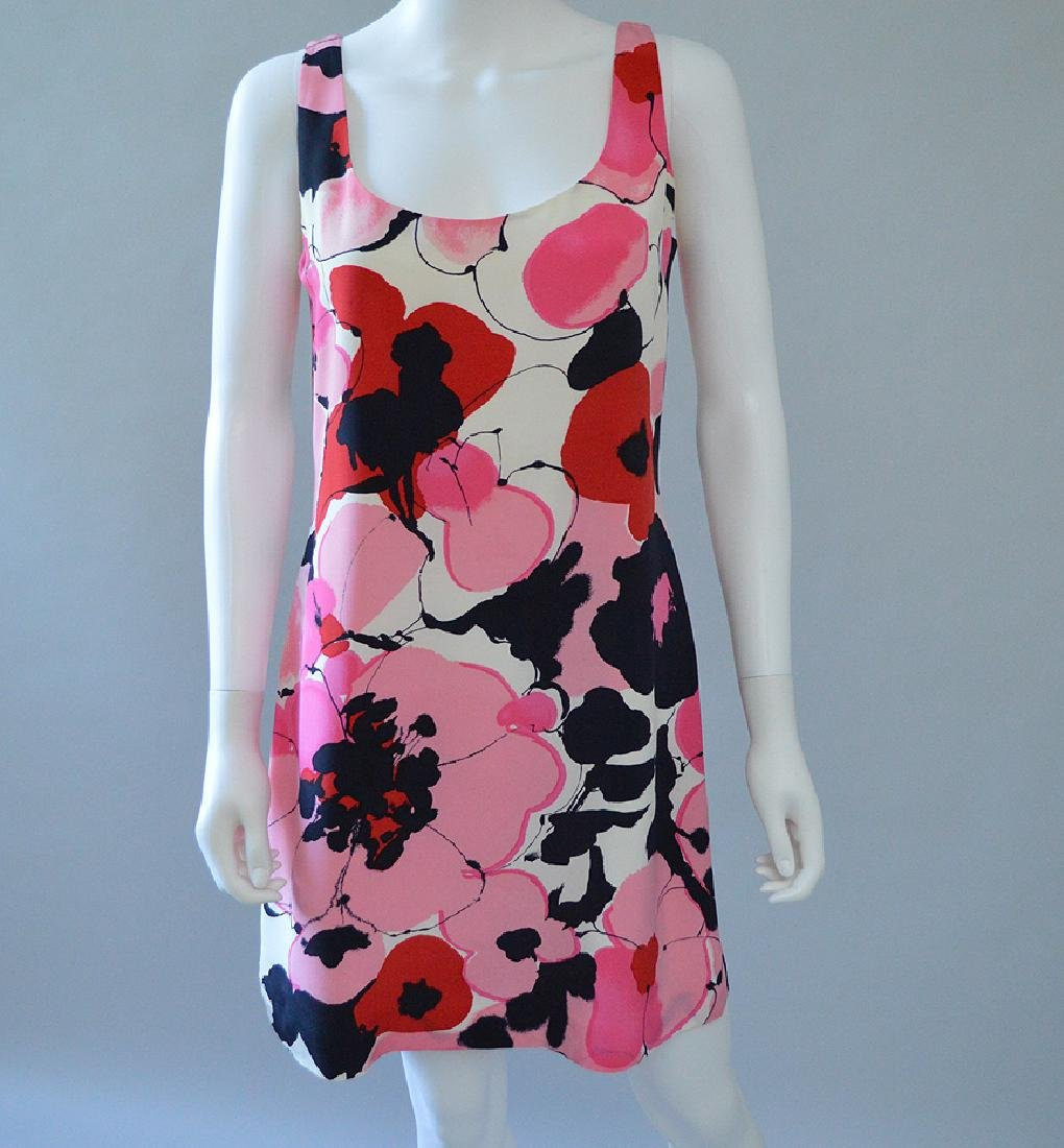 Ellen Tracy Silk Dress, (US) Size 10, Condtion - Like