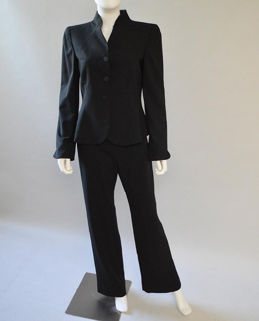 Vintage Giorgio Armani Wool Pant Suit, (US) Size 8 or