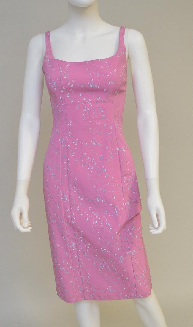Maria Bianca Nero Tea-length Dress, Polyester/Spandex