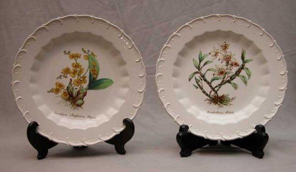 "16: 12 Copeland Spode bowls, ""J. Price"" artist, differe"