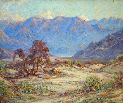152: Eliot Candee Clark American oil painting southwest