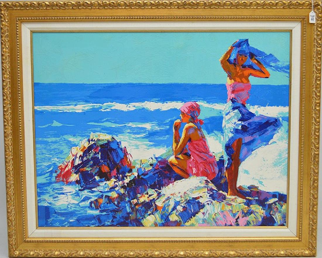 Nicola Simbari (born 1927-Died 2012) Deluxe Canvas
